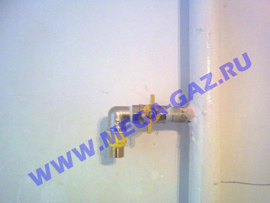 ustanovka-gazovogo-krana-dielectrika